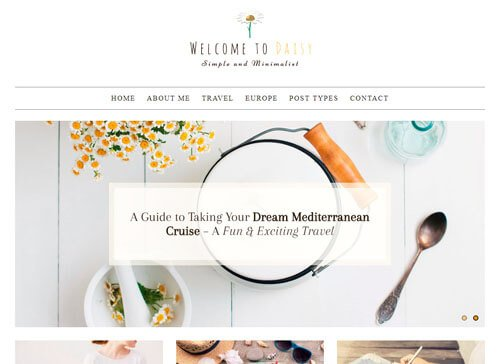 Daisy WordPress Theme